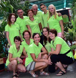 l'équipe de la jardinerie de l'Ill